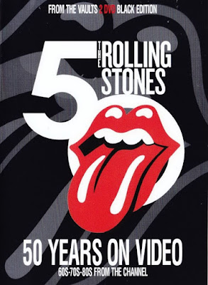 Rolling Stones 50 Years Black Edition 2018 DVD R1 NTSC VO