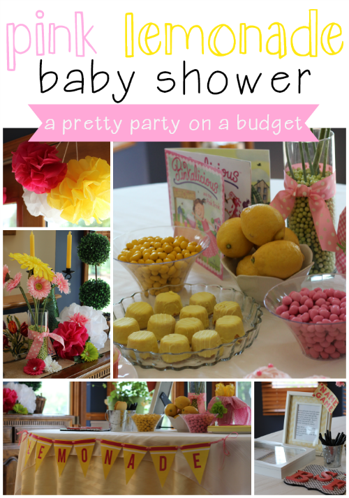 Its A Long Story Pink Lemonade Baby Shower