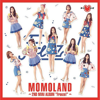 MOMOLAND - Freeze Lyrics