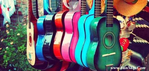 many guitars Facebook Cover