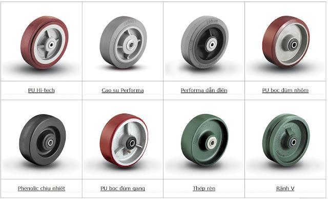 Giới thiệu bánh xe PU Colson 2
