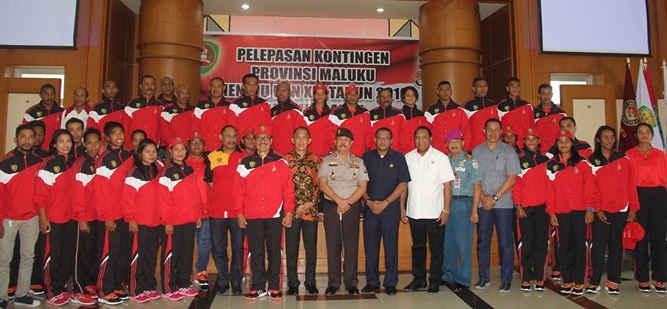 63 Atlet Maluku Siap Berlaga di PON XIX