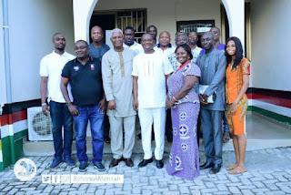 Sly Mensah's Campaign hits Volta Region.