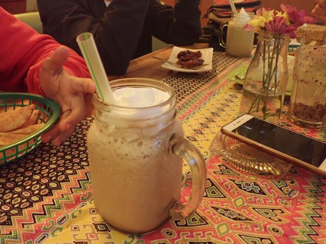 milkshake tiramisu coffee