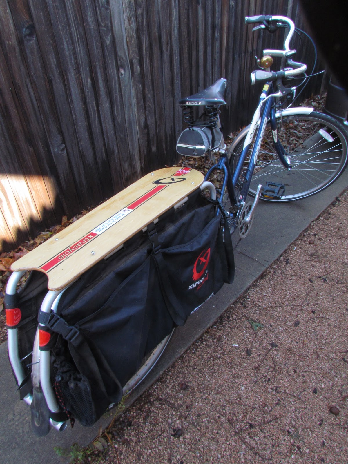 The Bicycle Garden: A custom walnut snap deck for Annette ...
