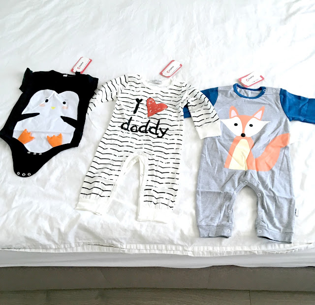 PatPat baby clothing 3 jumpsuits
