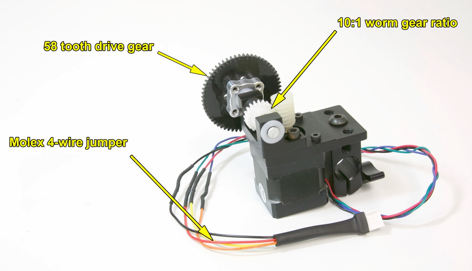 Dc Motor Worm Gear Assembly