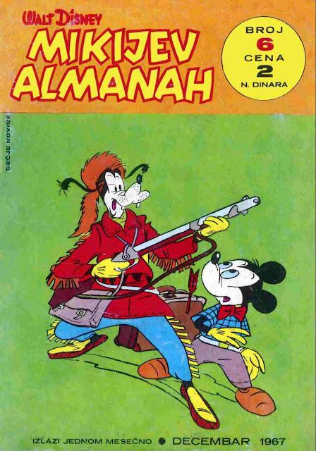 Mikijev Almanah 6 - Miki Maus