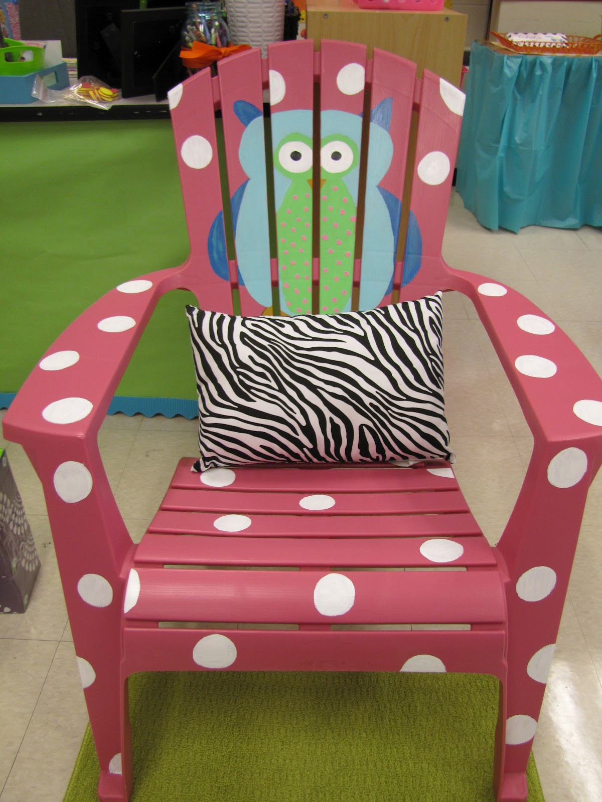 Teacher Rocking Chair Living Accents Adirondack My Classroom Part 1 The Lemonade Stand