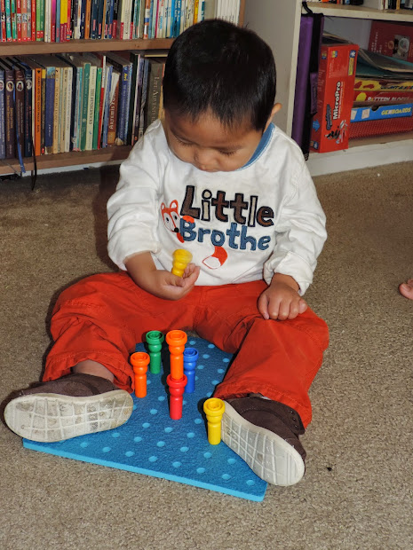 Greatly Blessed Lauri Pegboard & Peg Stackers #giveaway
