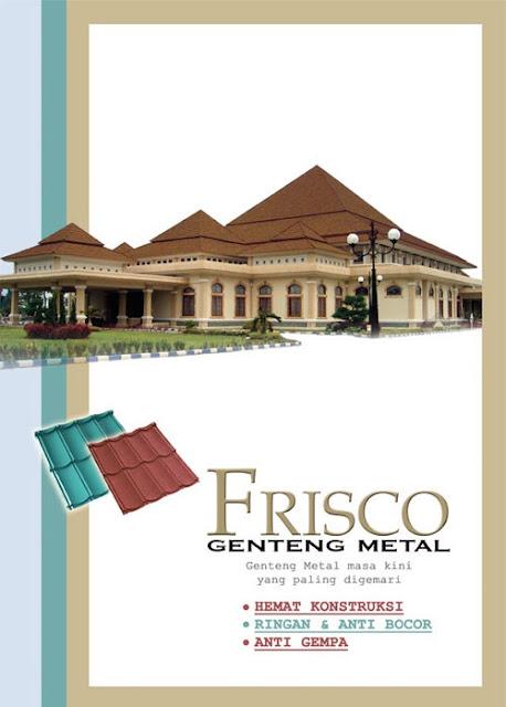 0001 SUMBER CAHAYA INDOSTEEL: GENTENG METAL FRISCO