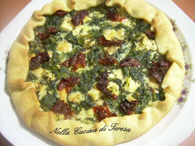 Nella cucina di teresa torta salata di spinaci e quartirolo - Nella cucina di teresa ...