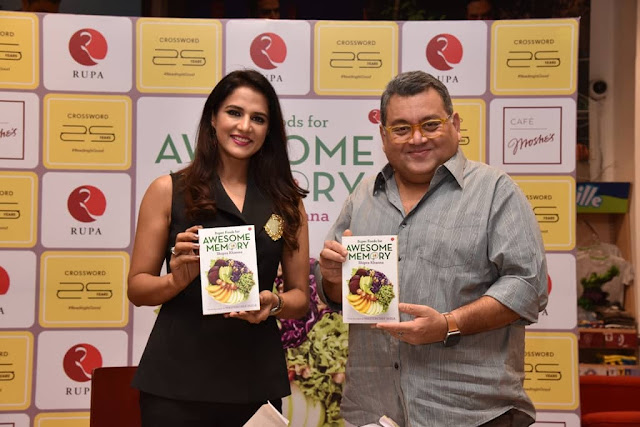 News : The book, Super Foods for Awesome Memory written by MasterChef Shipra Khanna, launched at Crossword Mumbai