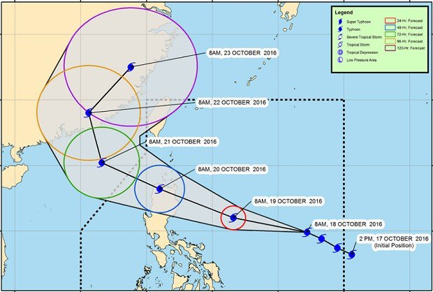 Signal No. 4 possible over Northern Luzon as 'Lawin' nears