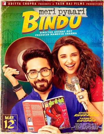 Meri Pyaari Bindu 2017 Full Hindi Movie DVDRip Free Download