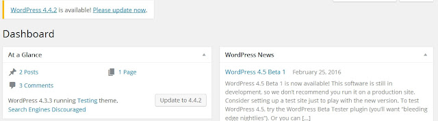 Always Update your WordPress