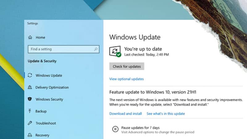 How to download and install the Windows 10 May 2021 Update Version 21H1