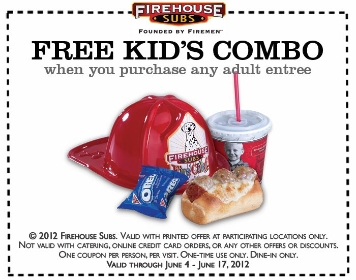 firehouse fathers day coupon