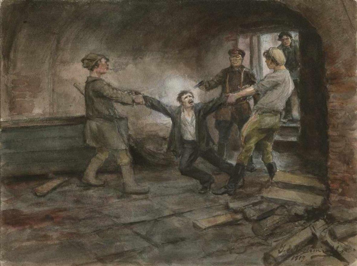 Расстрел в подвале