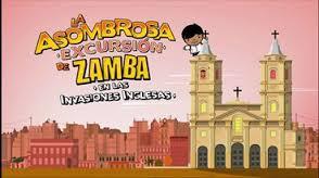 zamba en las invasiones inglesas