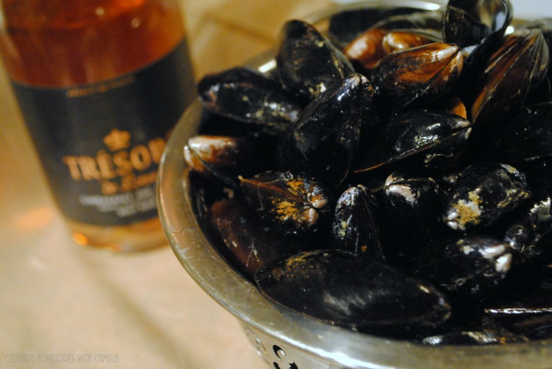 Moules au Crémant by Culinary Adventures with Camilla