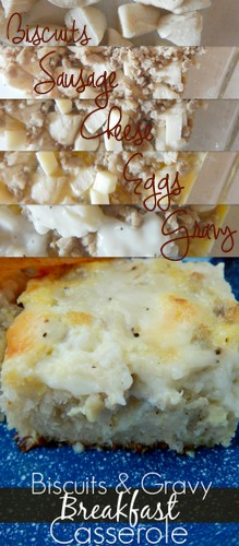 biscuits and gravy breakfast casserole (sweetandsavoryfood.com)