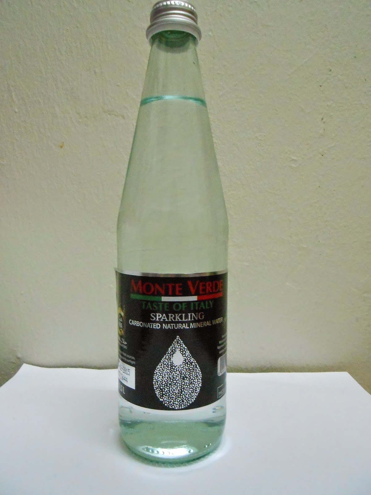 MONTE VERDE SPARKLING CARBONATED MINERAL WATER