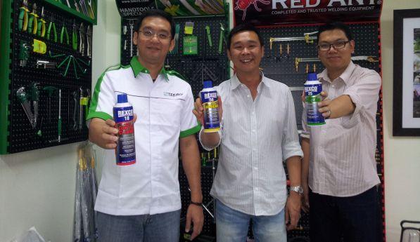 Produk REXCO Penghilang Karat Dan Kotoran