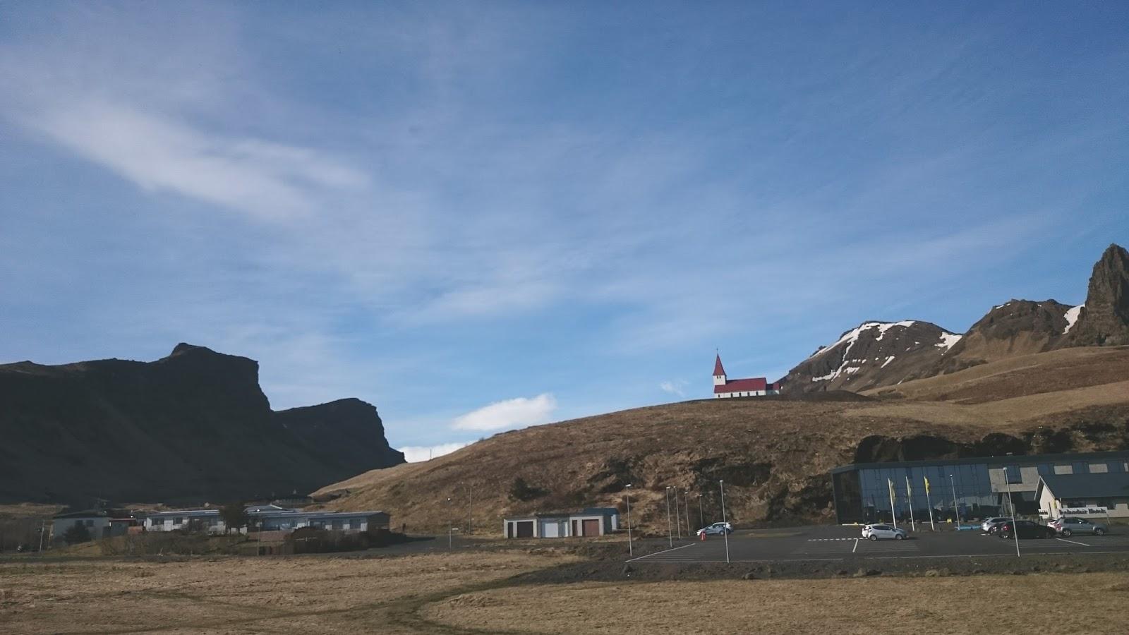 Vik, islandzkie miasteczko, Islandia
