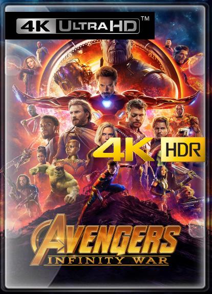 Vengadores: Infinity War (2018) 4K (HDR) LATINO/INGLES