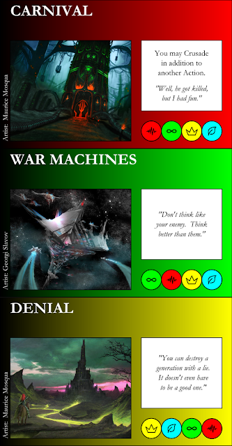 Carnival, War Machines, Denial