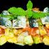 Lomos de sardina asados con tartar de aguacate y menta...