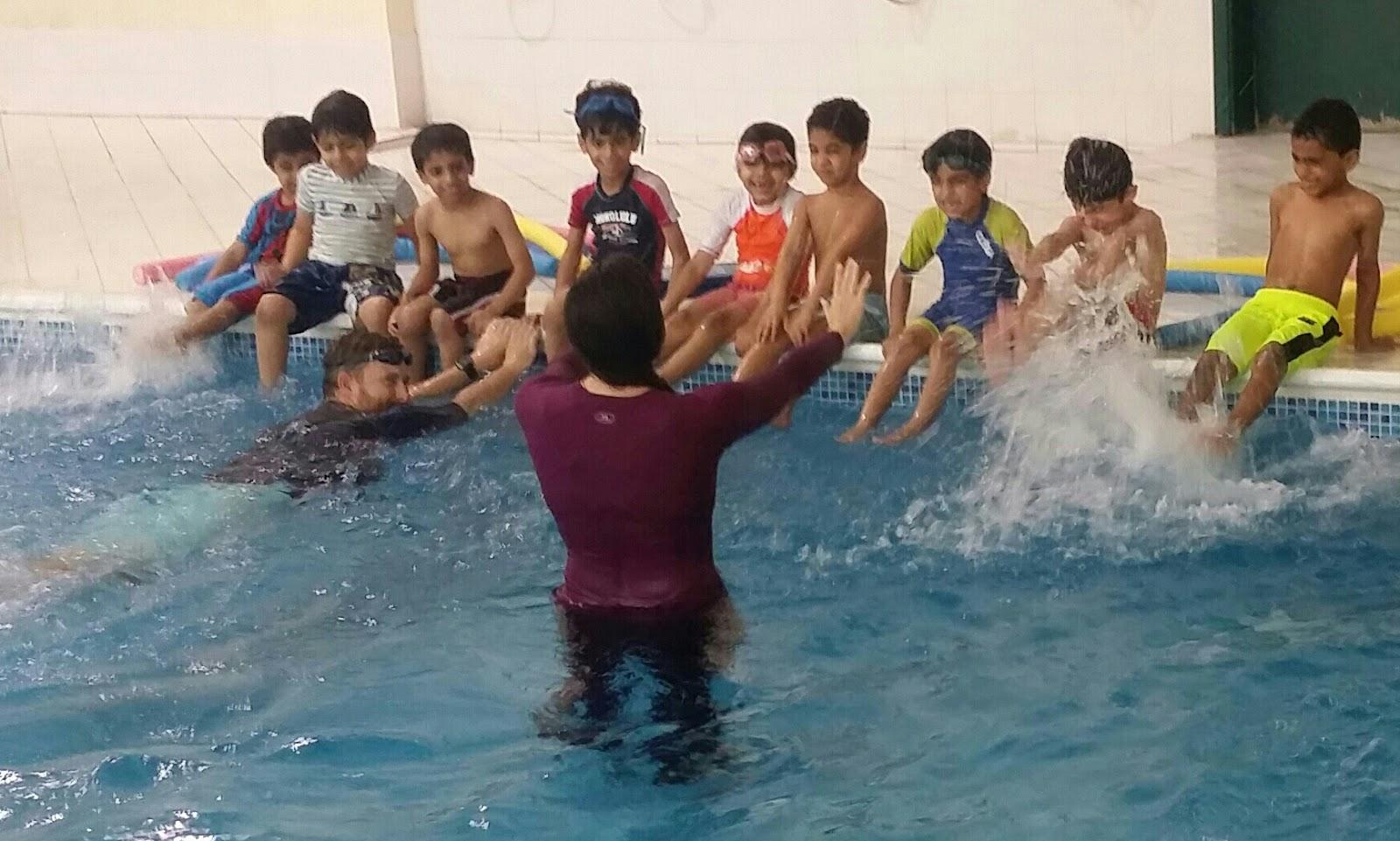 Muscat Oman BritSwim swimming lessons kids schools