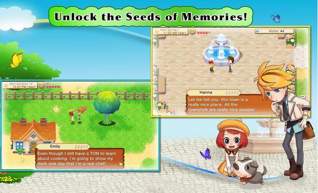 Free Download Harvest Moon Seeds Of Memories APK Android Terbaru + Data Full Offline