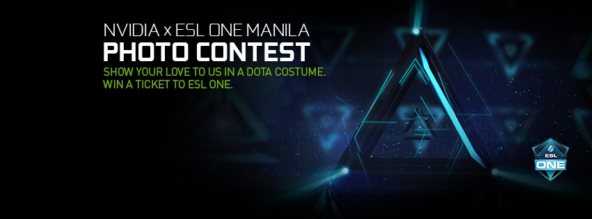 NVIDIA x ESL ONE MANILA Photo Contest