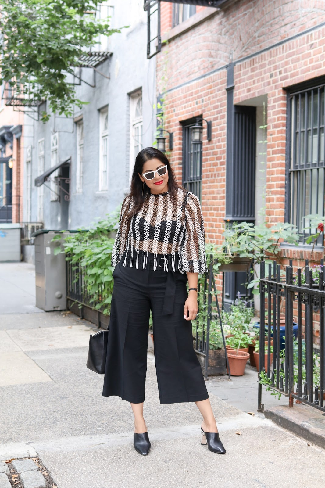 NYFW 2018 Outfit, new york fashion week blogger, topshop top