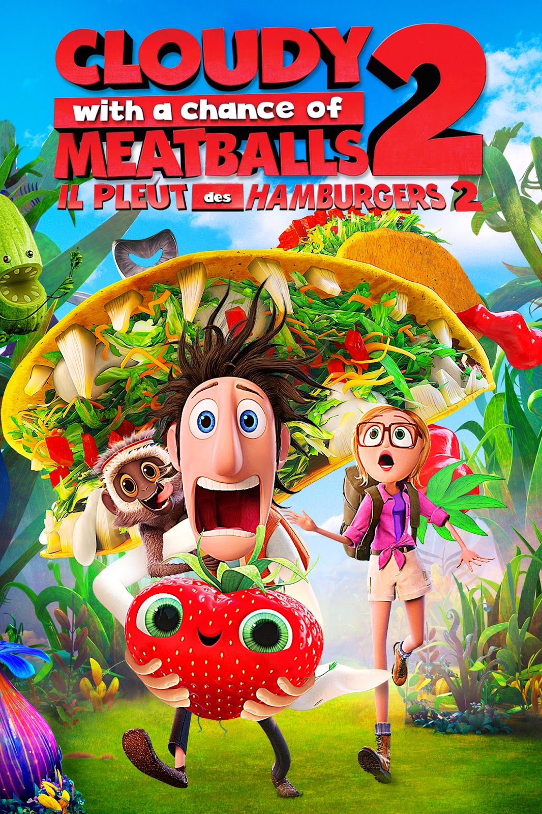 Cloudy With A Chance Of Meatballs 2 2013 BluRay 720p 700MB
