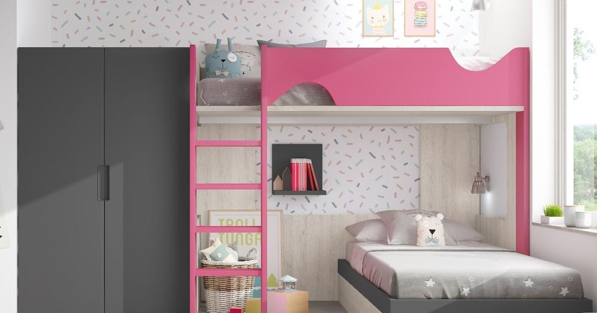 Litera infantil y armario 1259 - Dormitorios infantiles valencia ...
