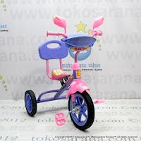 Sepeda Roda Tiga BMX PMB 920 Safari Musik Sandaran Pink