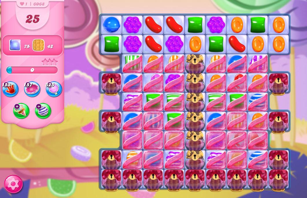 Candy Crush Saga level 6068