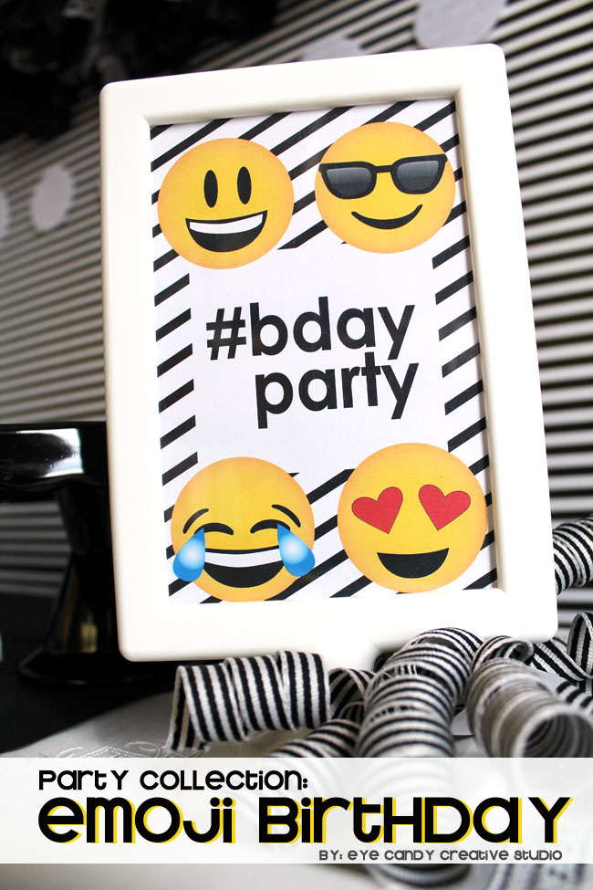 teen birthday, social media, texting, emoji sleepover, emoji party