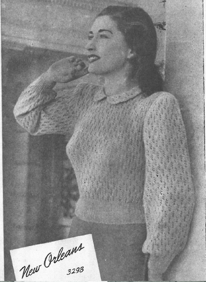 The Vintage Pattern Files: 1940s Knitting - Sun-glo Knitting Book
