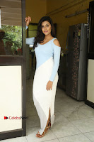 Anisha Ambrose Latest Pos Skirt at Fashion Designer Son of Ladies Tailor Movie Interview .COM 1126.JPG