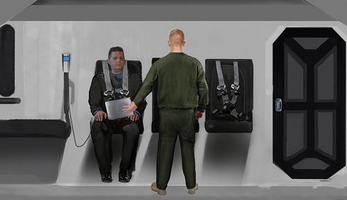 科裡被綁架與審問