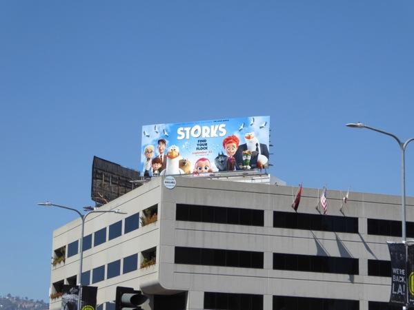 Storks billboard