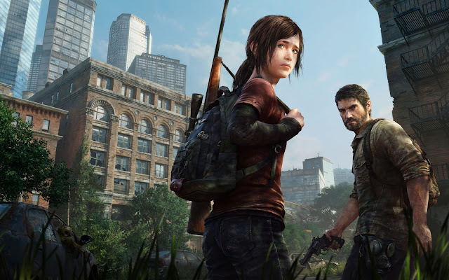 2013 the last of us como papel de parede