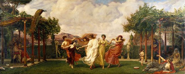 Horae Serenae - Edward Poynter, 1894