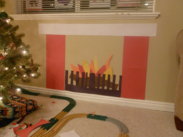BabcoUnlimited.blogspot.com - Family, Christmas Fireplace