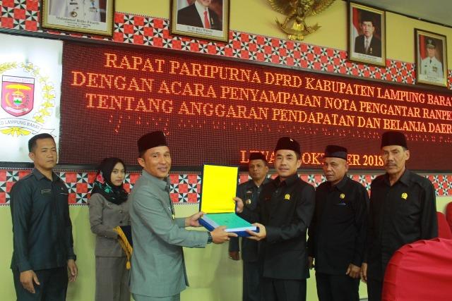 2019, Pendapatan Lampung Barat Diproyeksi Rp881 M Lebih