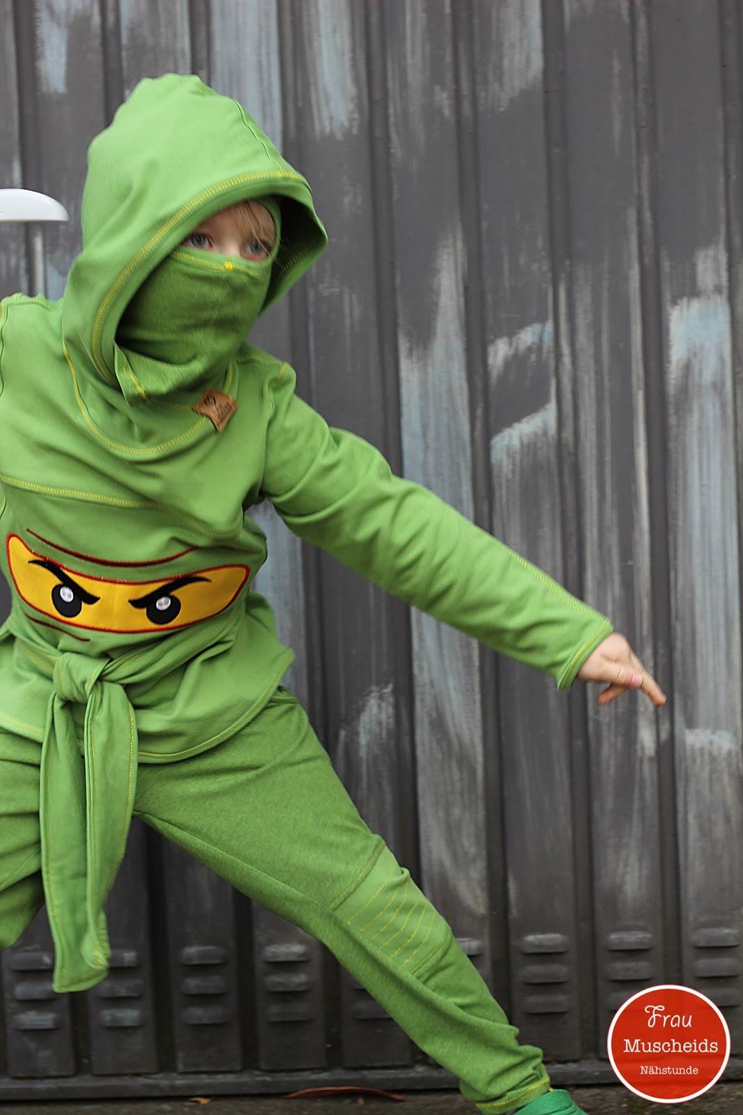 frau muscheids nähstunde: gefährlicher ninja-krieger oder